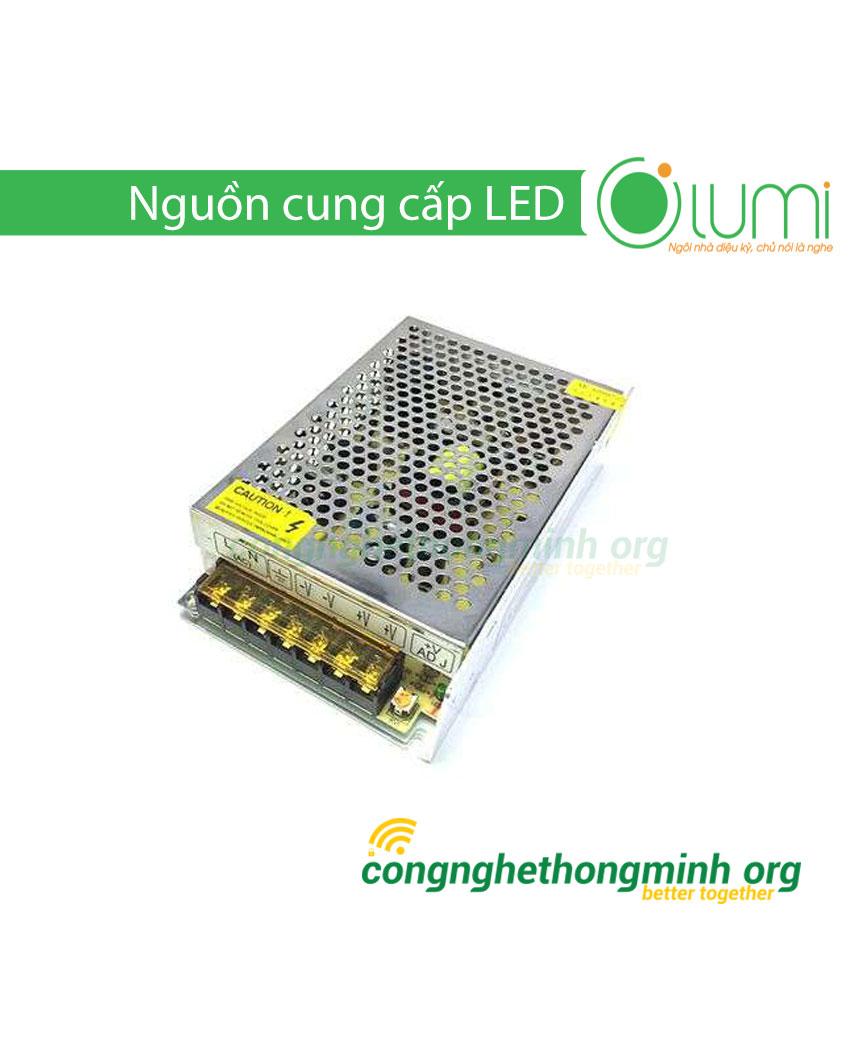 Bộ nguồn điều khiển LED dây trang trí Lumi