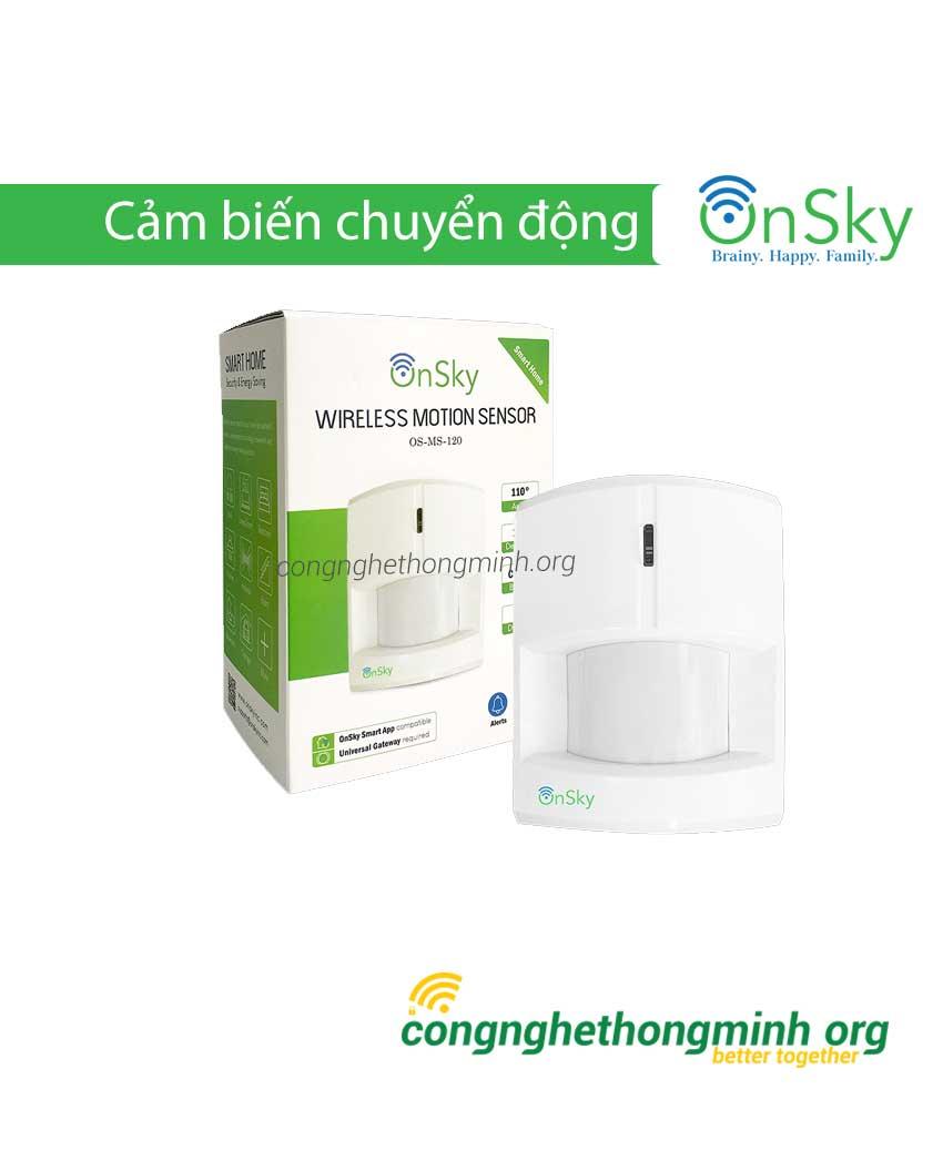 Cảm biến chuyển động  dùng pin OnSky