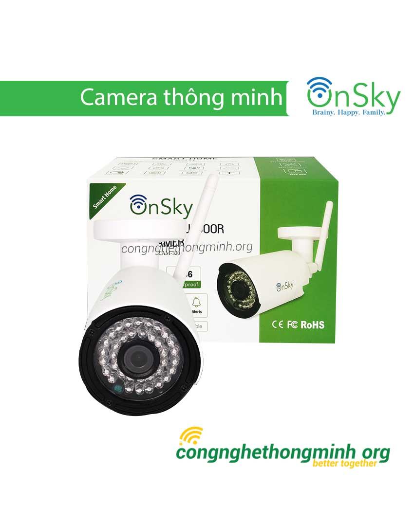 Camera thông minh ngoài trời OnSky