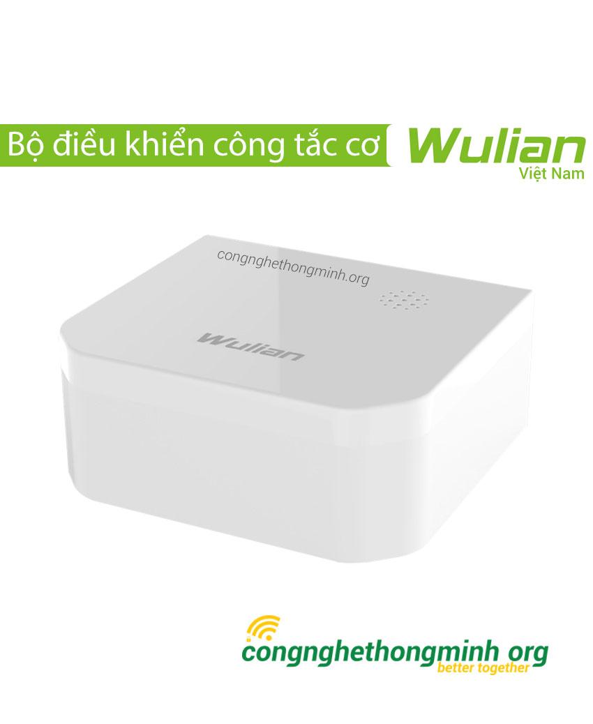 Bộ điều khiển công tắc cơ Wulian 2 nút