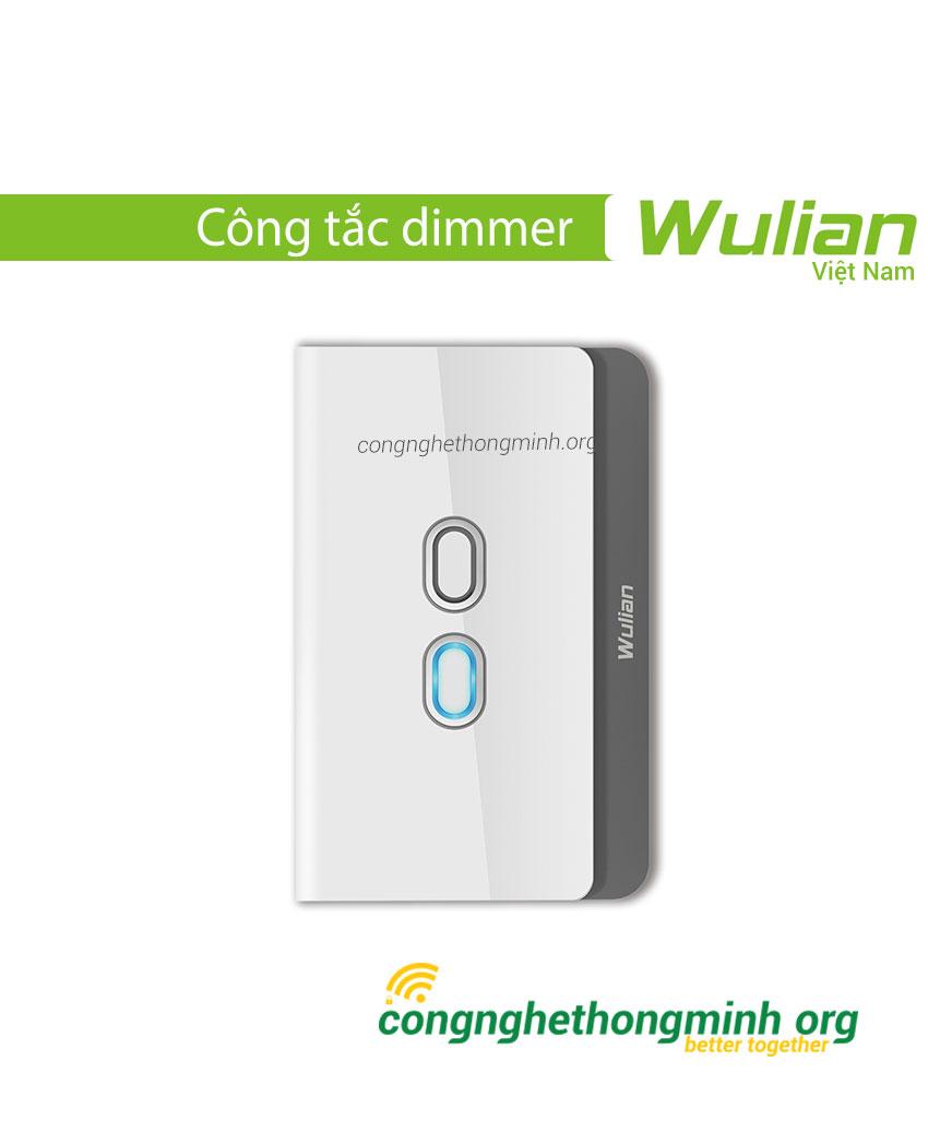 Công tắc đèn dimmer thông minh Wulian
