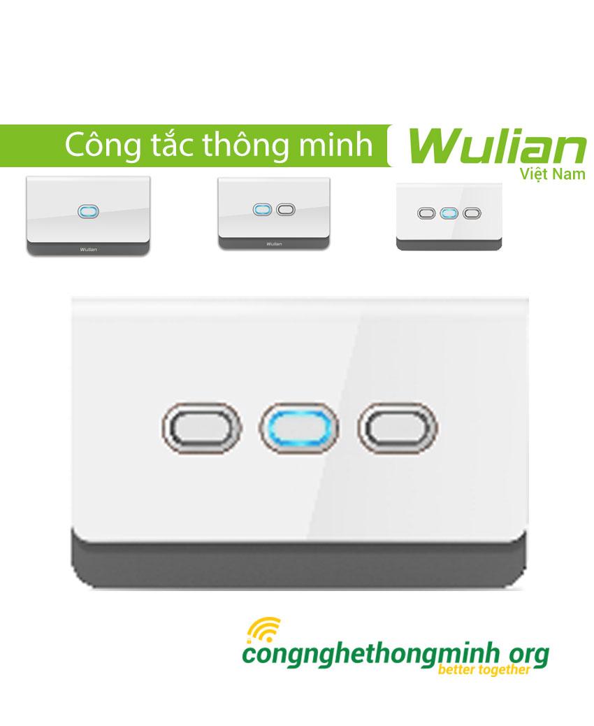 Công tắc thông minh cơ chữ nhật Wulian