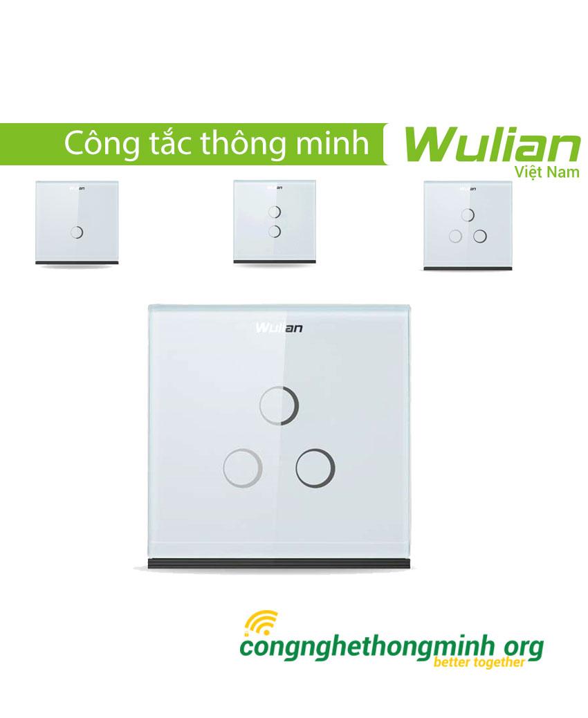 Công tắc thông minh vuông cảm ứng Wulian