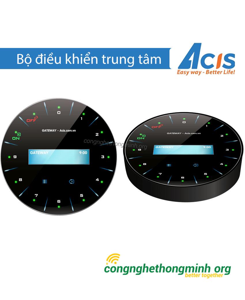 Bộ điều khiển trung tâm nhà thông minh Acis tròn